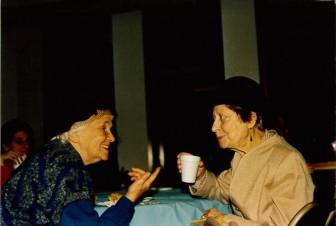 Anya Finkel. Beth Israel Torah Dedication, 1987.