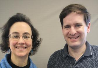 Caroline Helton and Jeff Bernstein