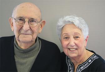 Helen and David Aminoff